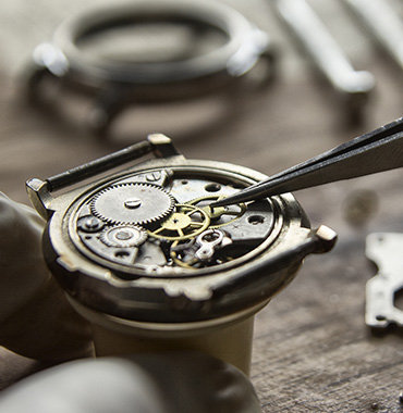 Close up of a watch